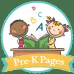 pre k pages logo large